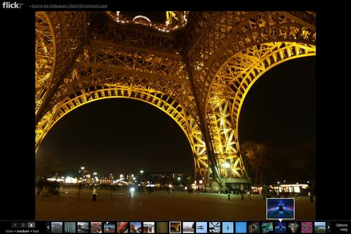 flickr wallpaper slideshow ghacks tech news