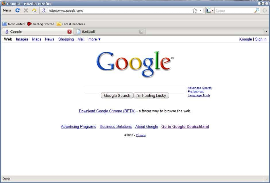 Setup Firefox To Use Minimal Screen Estate Ghacks Tech News