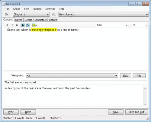 Novel Writing Software Free Download