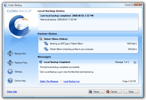 Cucku Backup y Backup Maker