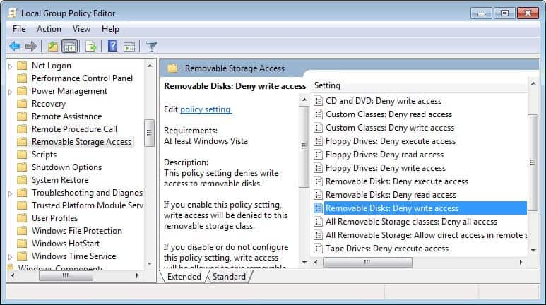 how to turn off write protection on usb flash drive
