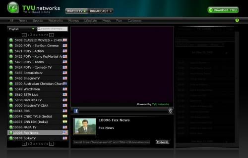 how to watch tv via internet