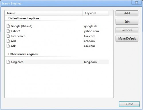 FinderClick.com Search -- install google chrome search engine