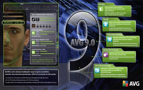 Antivirus Software AVG 9 Released – AVG 9 Free Downloads Soon