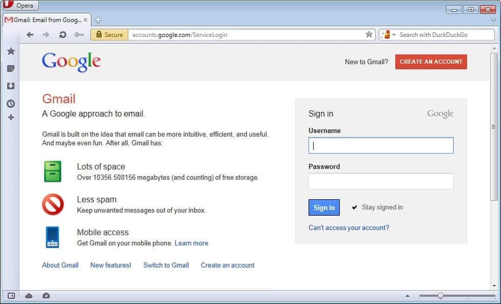 Gmail Login Page Google Mail Sign In – Andrew Fuller
