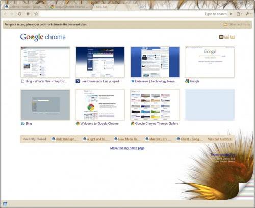 google chrome theme 2