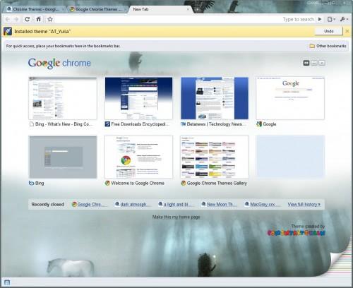 google chrome theme 8