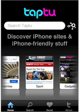 taptu-iphone-app