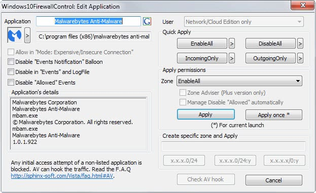 how to make a exception in firewall windows 10