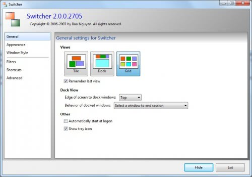 windows application switcher
