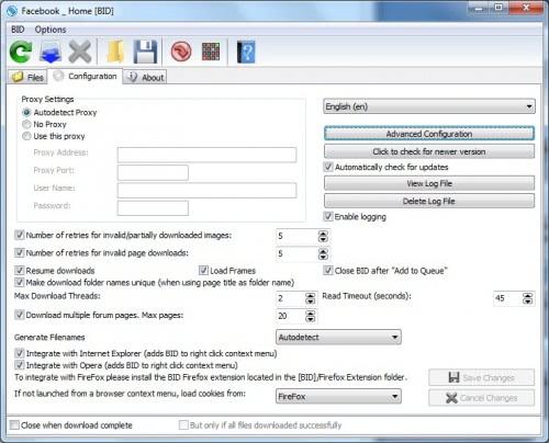 bulk image downloader freeware. bulk image downloader review. The standard configuration settings are