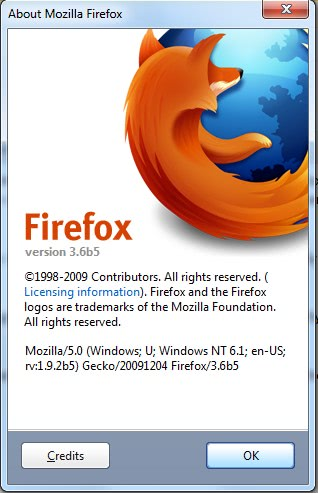 Mozilla Releases Fifth Beta Of Firefox 3.6