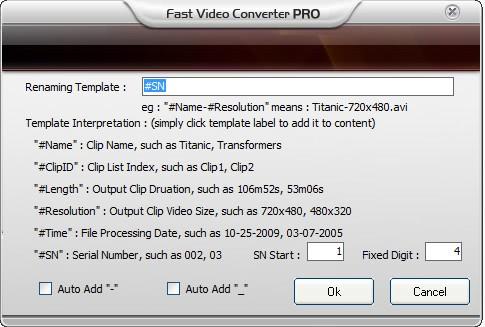 video renamer