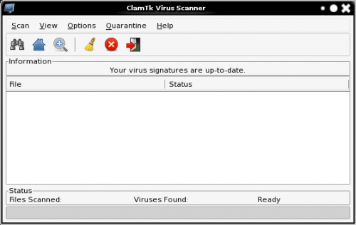 Scan your Linux machine for viruses with ClamTk