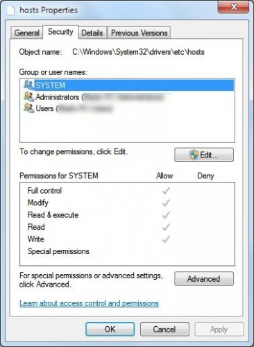 Change File Access Rights With Take Ownership