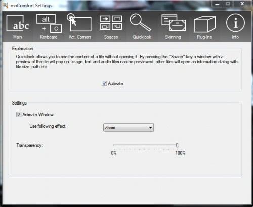 MaComfort Brings Mac Functionality To Windows