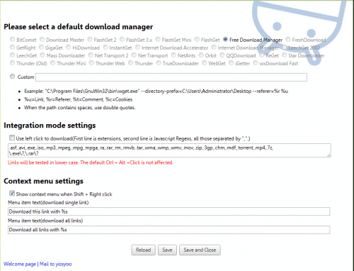 chrome download manager