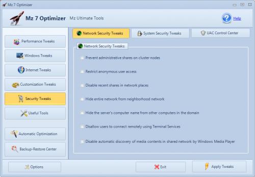 network security tweaks