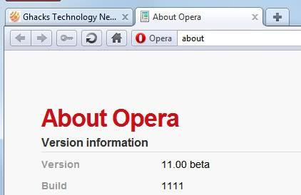 opera 11 beta