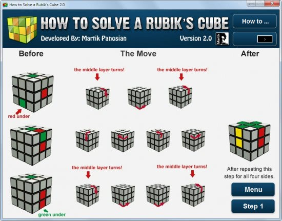 New How To Solve A Rubik Cube Directions