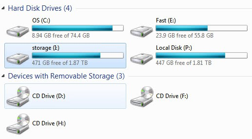 how to make a hard drive accessible over a network