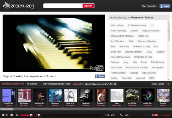 zebralizer youtube music radio