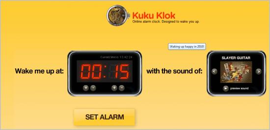 online alarm