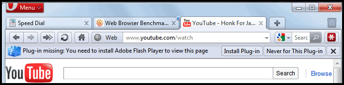 Opera plugins подключаемые модули flash включить - 632