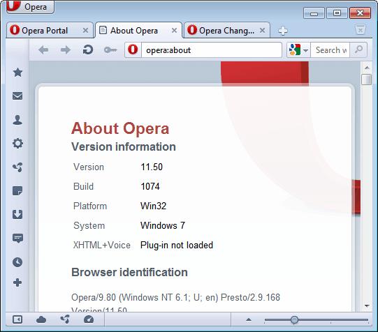 opera interface