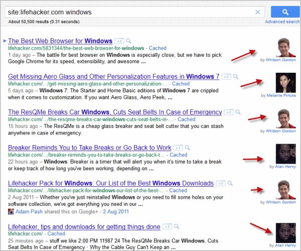 google search author profile photos