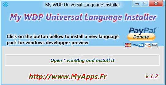 WDP Installer