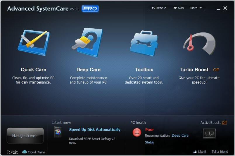 advanced systemcare pro1 - Advanced SystemCare PRO 5 [ 10 Hediye Lisans ] [Sonlandı ]