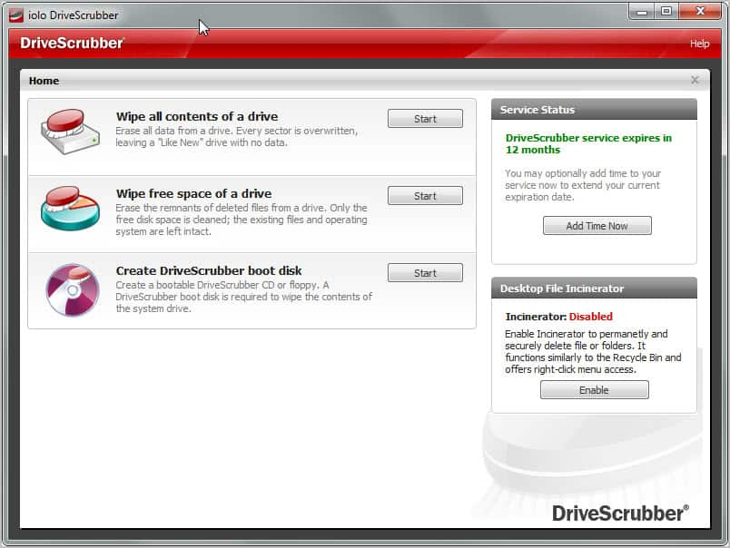 how to delete software from broken hard drive