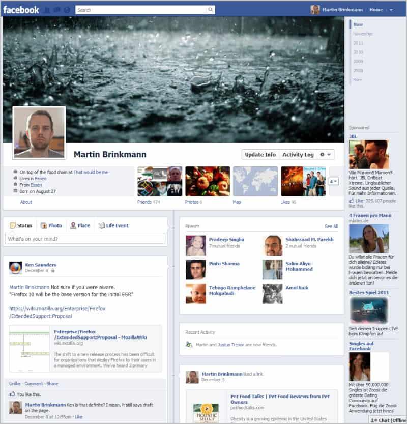 how to delete timeline on facebook