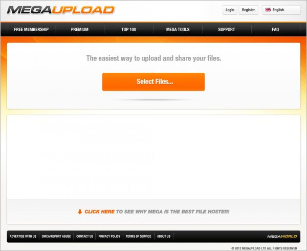 ... : Home » The Web » Megaupload Shuts Down, Arrests Have Been Made