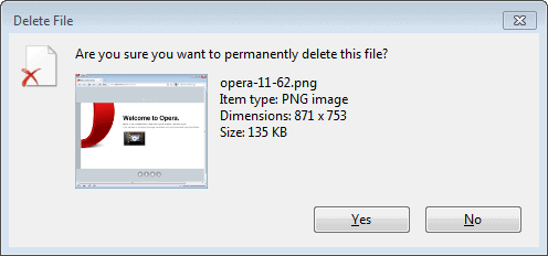 are you sure you want to permanently delete this file