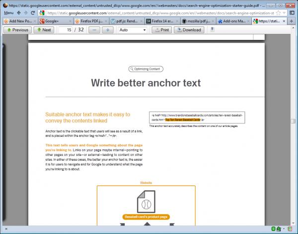 firefox pdf.js reader
