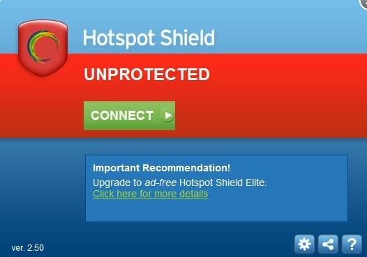 hotspot shield 25