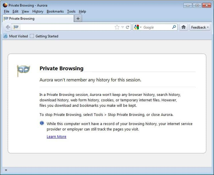 How to Turn on Private Browsing