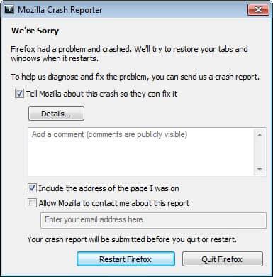 Adobe Flash Plugin Keeps Crashing Firefox 13