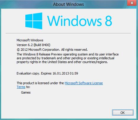 Windows  Evaluation Copy Build  Crack