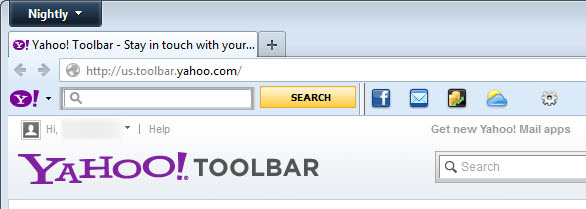 Yahoo Toolbar for Internet Explorer