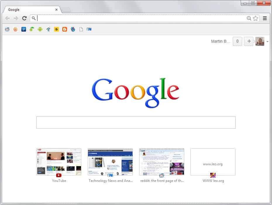 how to add thumbnail in google chrome new tab