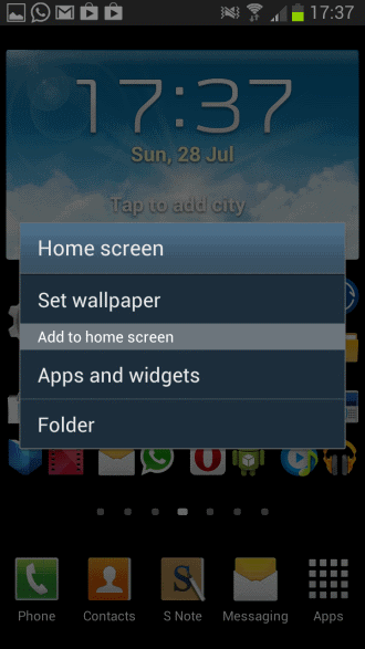 how to add multiple imageview on homescreen widget