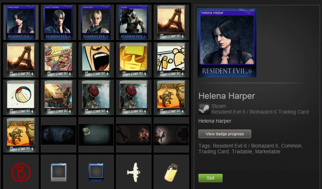 Trading card system steam