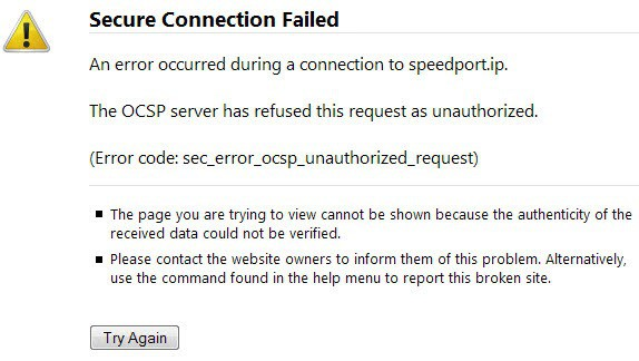 Fix The OCSP server has refused this request as unauthorized in Firefox - gHacks Tech News