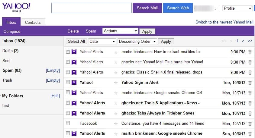 My Yahoo emails not being received by recipients, any reason why?