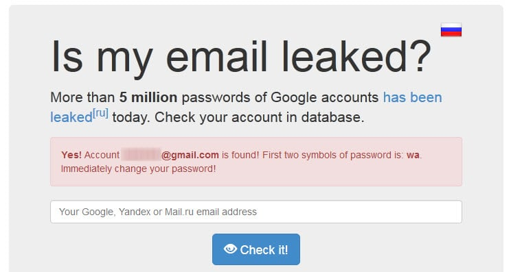 gmail account hacked