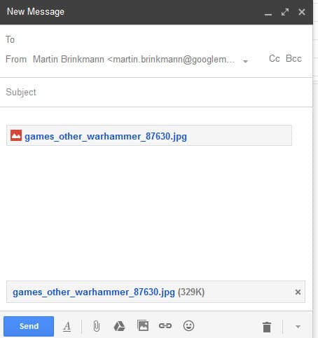 attach files gmail