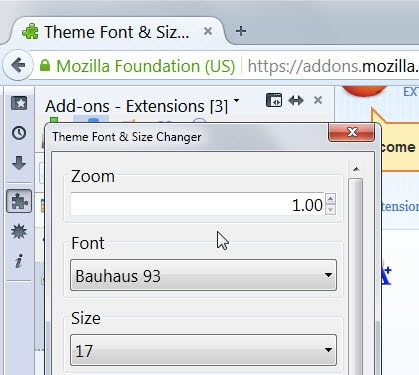increase font size of pdf globally